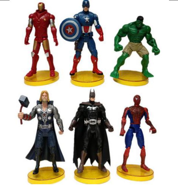 Marvel Cake Toppers Nz