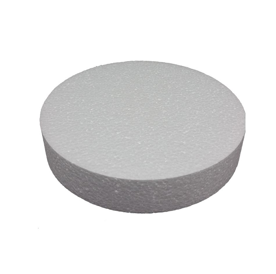 Round Foam Styrofoam Polystyrene Cake Dummy 11 Quot 1 Quot High