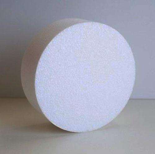 Round Foam Styrofoam Polystyrene Cake Dummy 18 Quot 4 Quot High