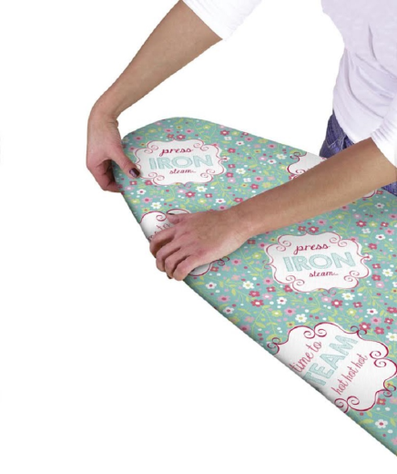 ironing board cover easy multi fit elasticated replacement. Black Bedroom Furniture Sets. Home Design Ideas