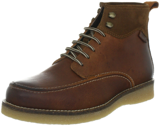 levis footwear 217422 mens gents medium brown leather
