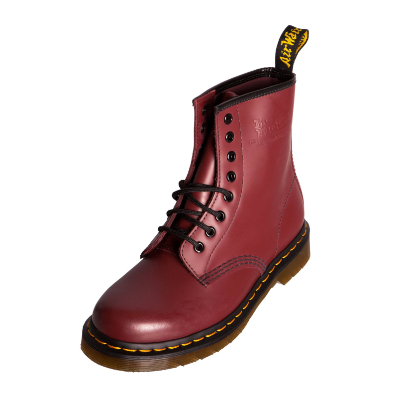 dr doc martens 1460 classic boot cherry red leather. Black Bedroom Furniture Sets. Home Design Ideas