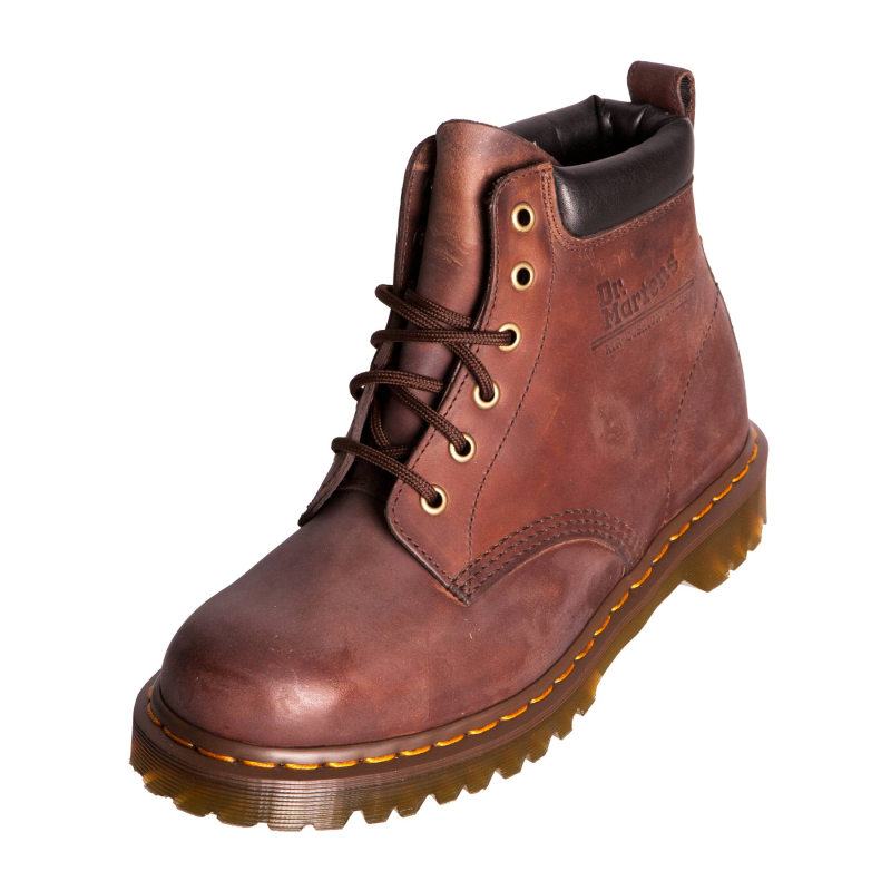 dr doc martens mens ben boot 939 brown leather classic