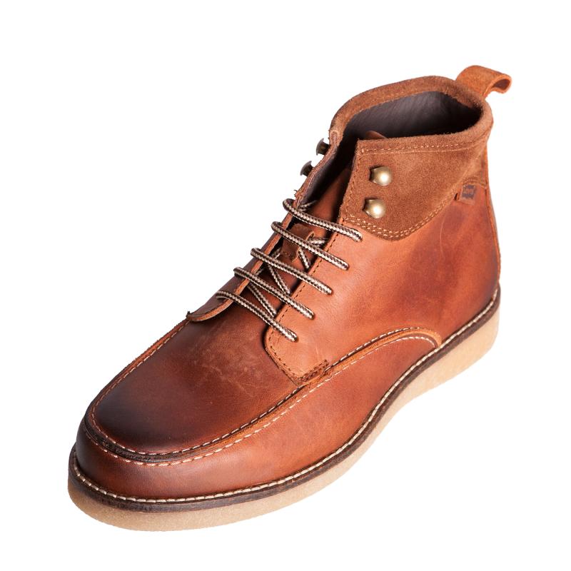 levis footwear 217422 mens gents medium brown leather