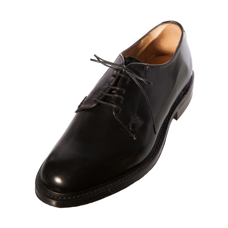 loake waverley classic mens gents tie shoe black leather
