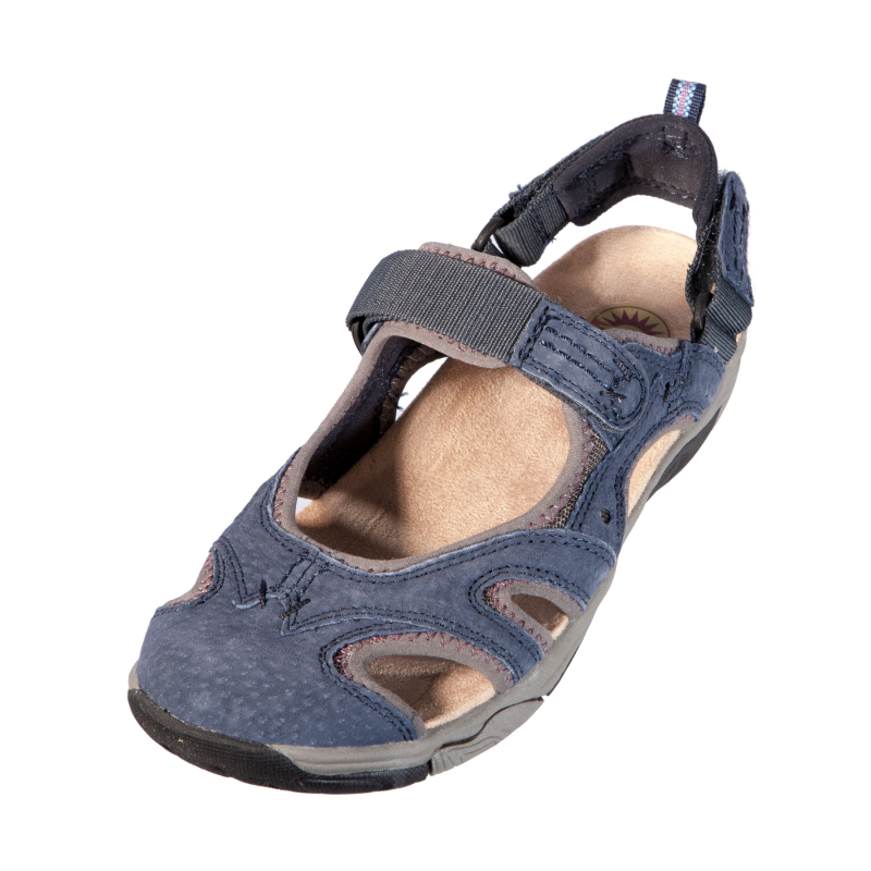 Earth-Spirit-Womens-Ladies-17612-El-Paso-Indigo-Flat-Sandal-Leather