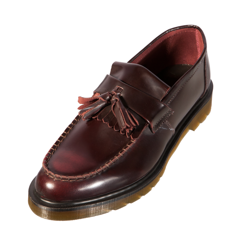 dr doc martens 14573601 adrian da uomo scarpa classica mocassino in pelle bordeaux ebay. Black Bedroom Furniture Sets. Home Design Ideas