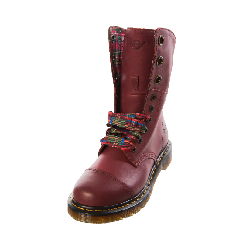 dr martens womens ladies 15313601 aimilie cherry red rouge leather boot ebay. Black Bedroom Furniture Sets. Home Design Ideas