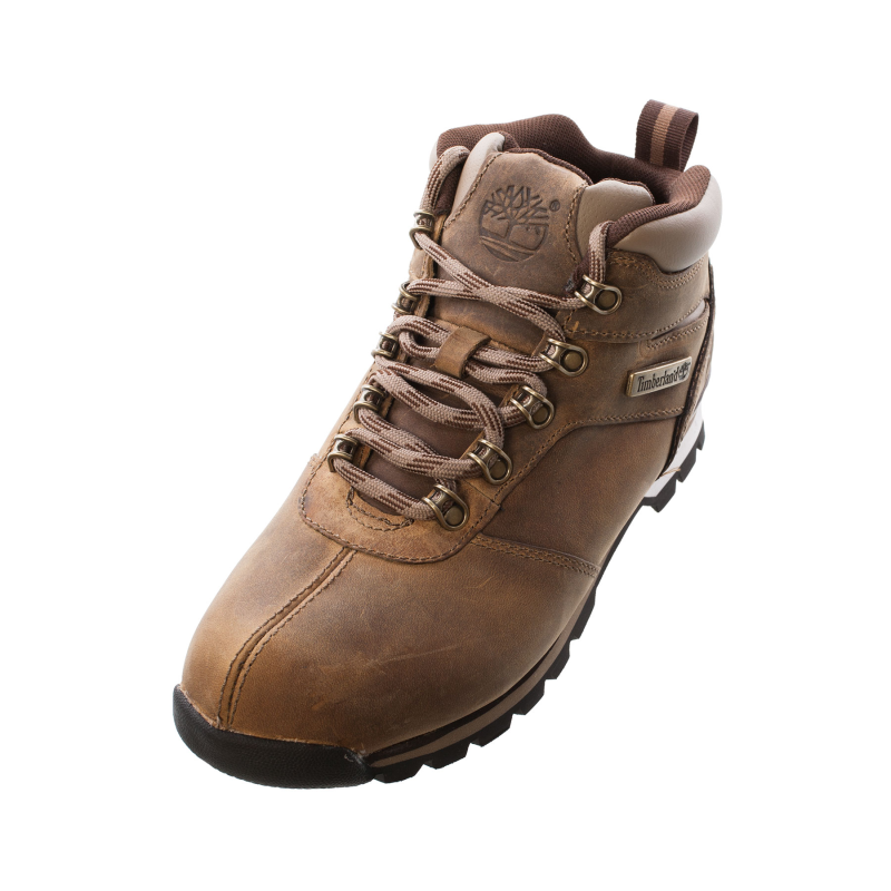 timberland 6821r mens gents splitrock 2 khaki leathr boot