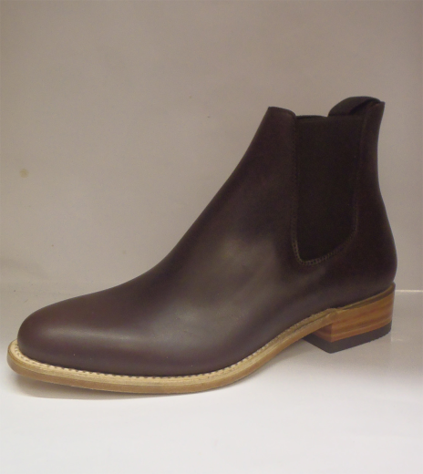 sancho boots braun leder herren chelsea boots schuhe zc10386 ebay. Black Bedroom Furniture Sets. Home Design Ideas