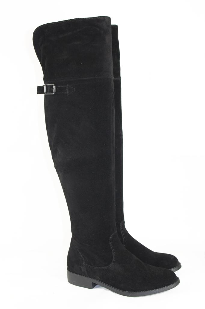 tamaris 25811 black suede the knee boots ebay