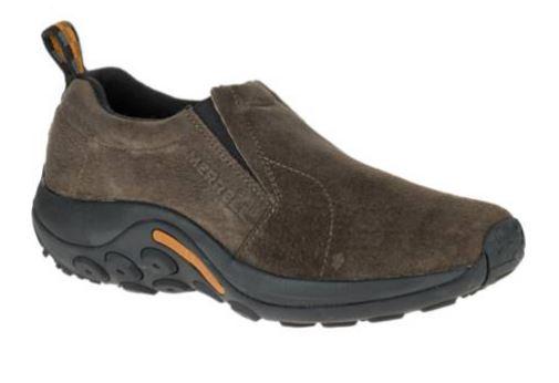 Merrell Jungle Moc  Herren Leder Slip On On Slip Walking Schuhes 5d4d02