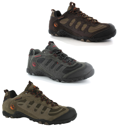 Mens-Hi-Tec-Penrith-Low-Waterproof-Walking-Trail-Hiking-Trainers-Size-7-12