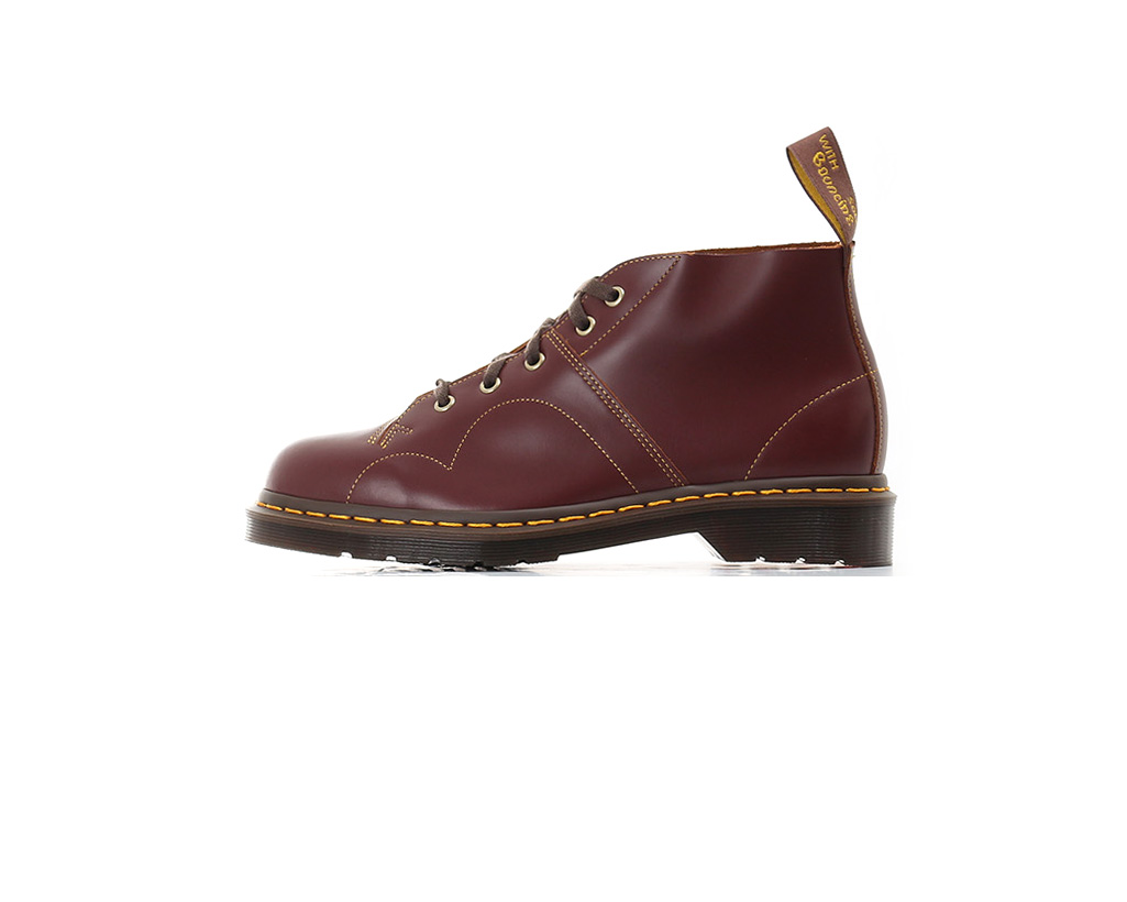 Dr Dr Dr Martens Church Boots - Oxblood Vintage Smooth 8a22e9