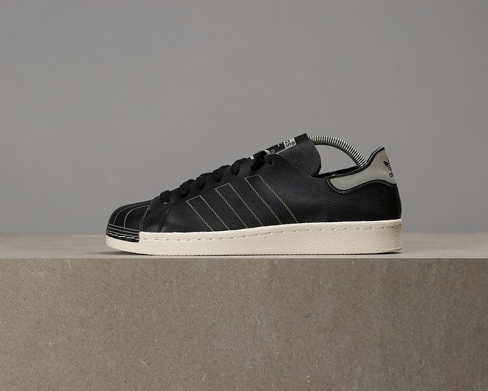 X - Adidas Superstar 80s Decon - X Core Noir / Vintage White c6a2b2