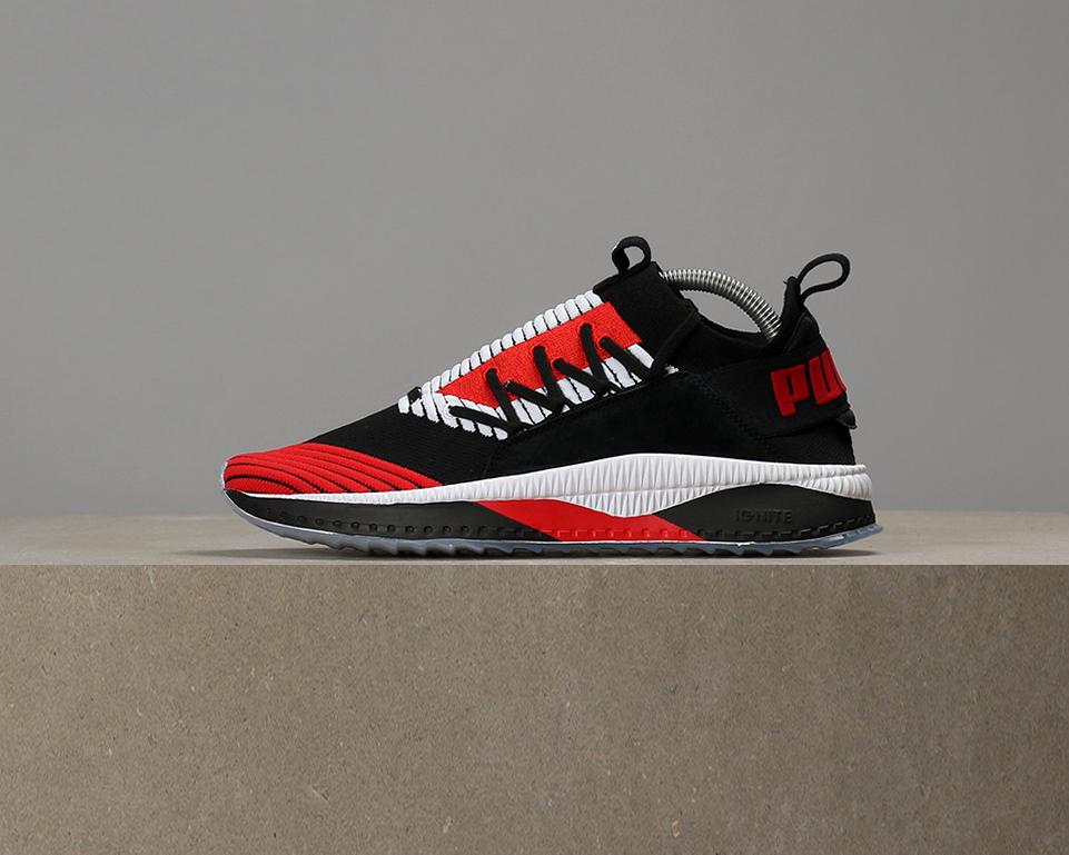 Sneaker Tsugi Jun Cubism rossa Puma 2ThxwI