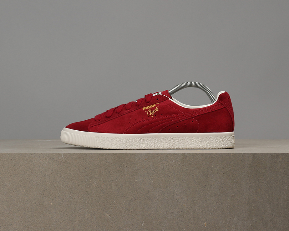 X Puma - Clyde From The Archive - Puma Red Dahlia c121fc