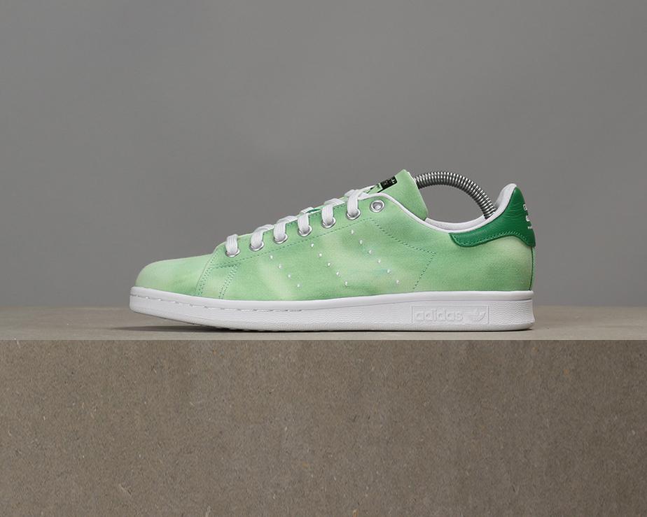 X Adidas x Stan Pharrell Williams Hu Holi Stan x Smith - Green / White ed6f88