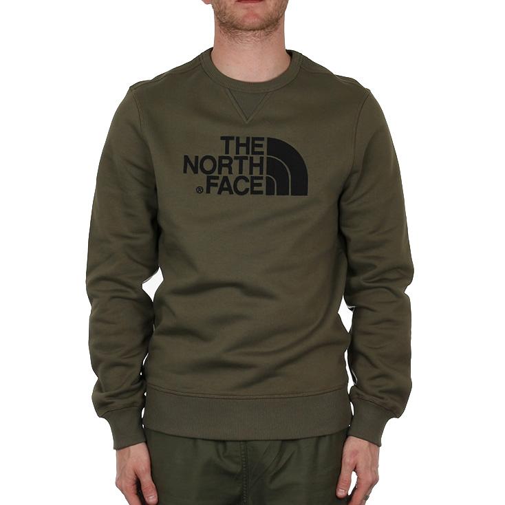 X-The-North-Face-Drew-Peak-Crew-Sweat-New-Taupe-Green-VF-Northern-Europe-Ltd