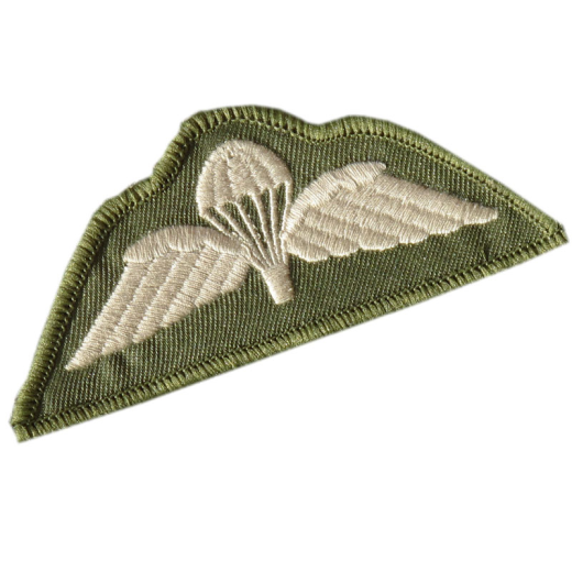 BRITISH-ARMY-AIRBORNE-PARACHUTE-PARA-WINGS-MTP-GREEN-ECRU