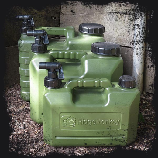 RidgeMonkey NEW Heavy Duty Water Carriers - All Sizes
