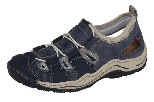 Rieker L0561-14 Sporty Sporty Sporty Casual Trail Schuhe Navy 23581c
