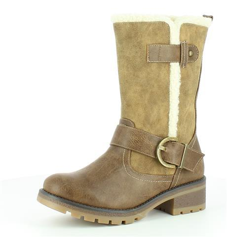 Heavenly Feet Rapport 2 Mid Boot Height Boot Mid Camel a060a8