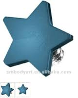 Dermal-Anchor-Top-Star-Blue-Disc