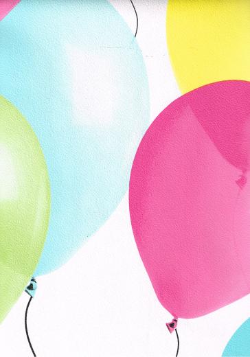 8128 91 Balloons Pink Blue Yellow Green Wallpaper eBay