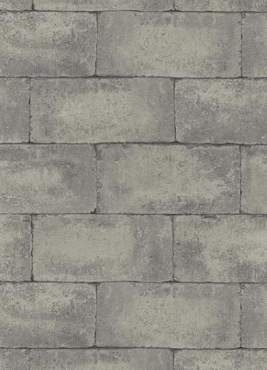 7320 15 Brick Stone Slate Grey Wall Wallpaper eBay
