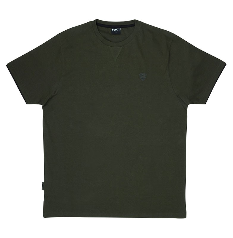 Fox-Green-Black-Brushed-Cotton-T-Shirt