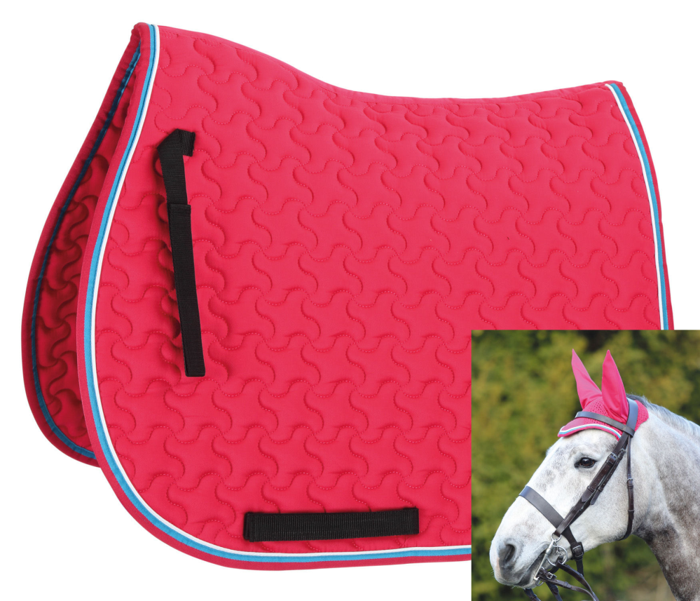 DELUXE FLY VEIL Striking Fits Under Bridle Smart Colours Breathable ...