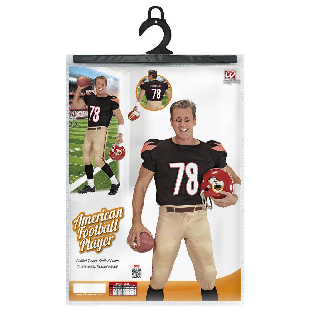 77d7917a5eab Mens American Football Player Quarterback Sports Stag Fancy Dress ...