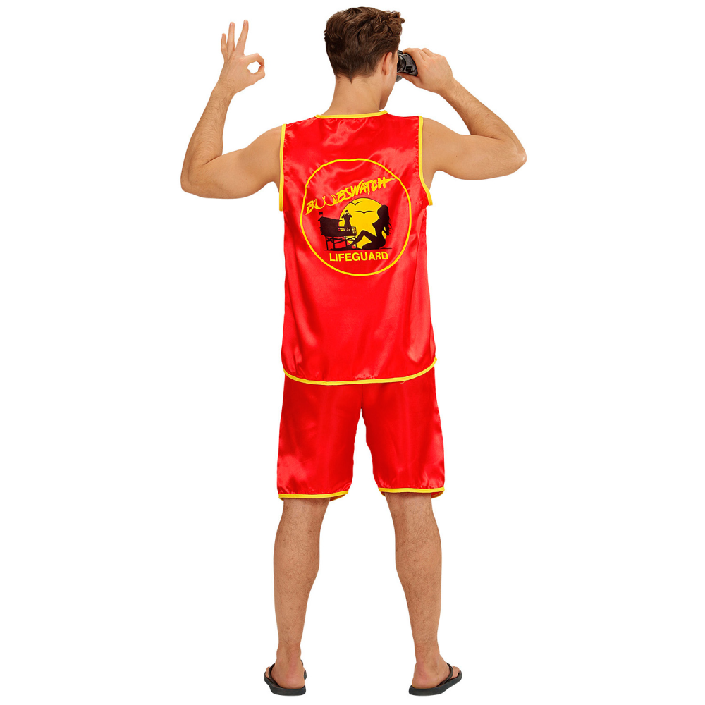 Adult Anita Waxin Costume Lifeguard Funny Stag Fancy Dress Outfit