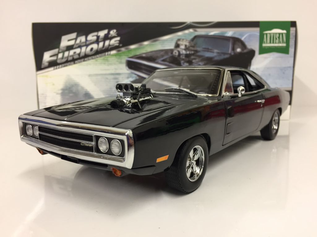 fast and furious doms 1970 dodge charger 1 18 scale. Black Bedroom Furniture Sets. Home Design Ideas