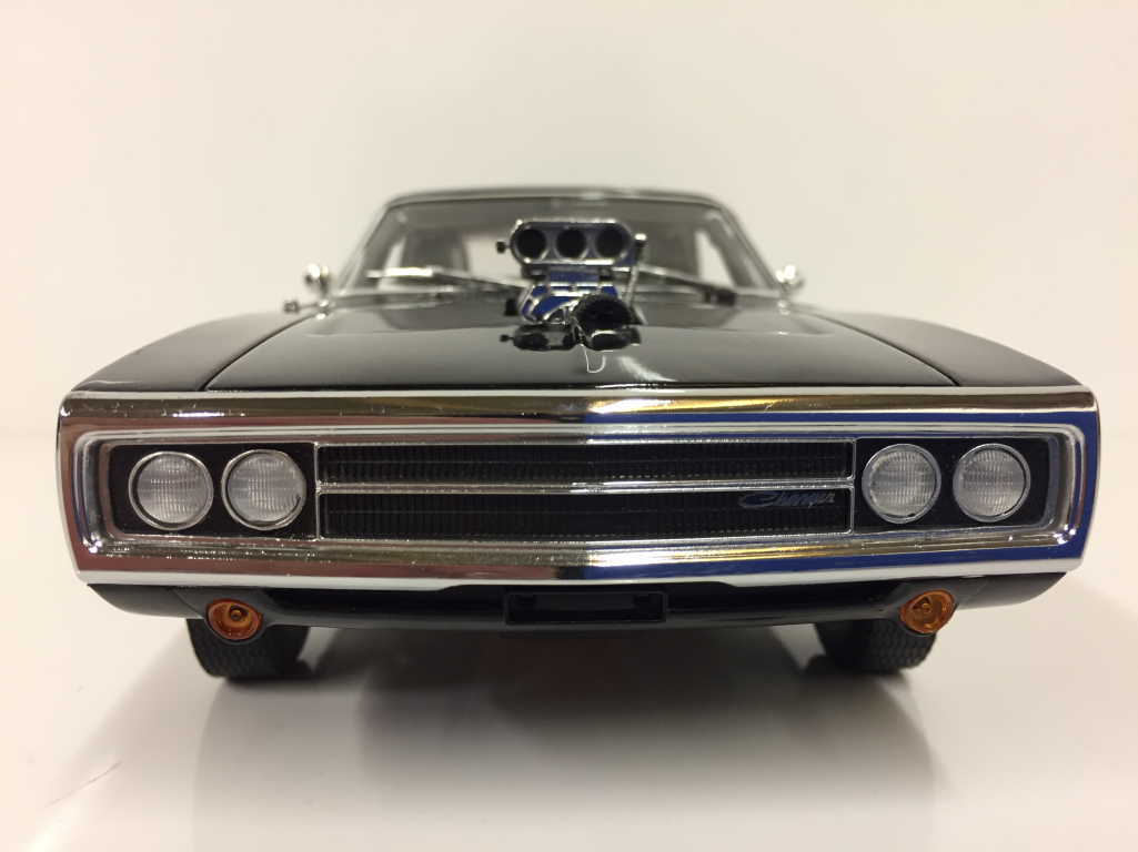 fast  furious doms  dodge charger  scale greenlight   ebay
