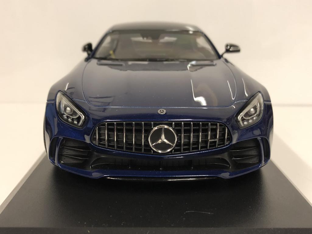 Minichamps 155036022 Mercedes Amg Gt R 2017 Bleu Métallique Échelle 1:18 4012138144774