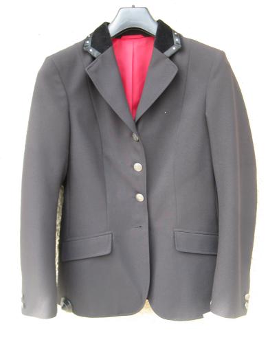 Caldene-Farnham-Maids-Show-Jacket-Black