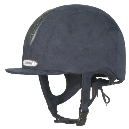 Champion Junior X-Air Plus Riding Hat Hat Riding - Navy Blau 33fb41