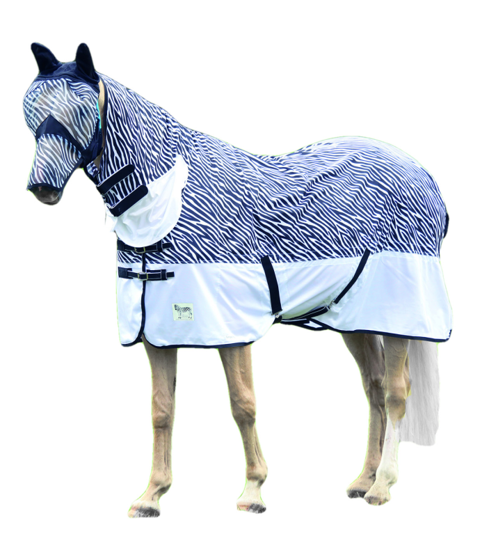 Shires Tempest Zebra Pony/Horse Fly Combo Rug
