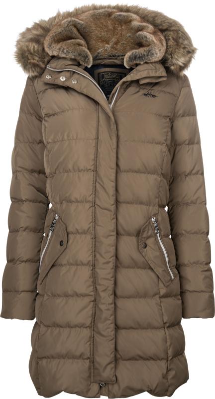 HV Polo Debben Womens Down Filled Long Jacket - Teak   eBay