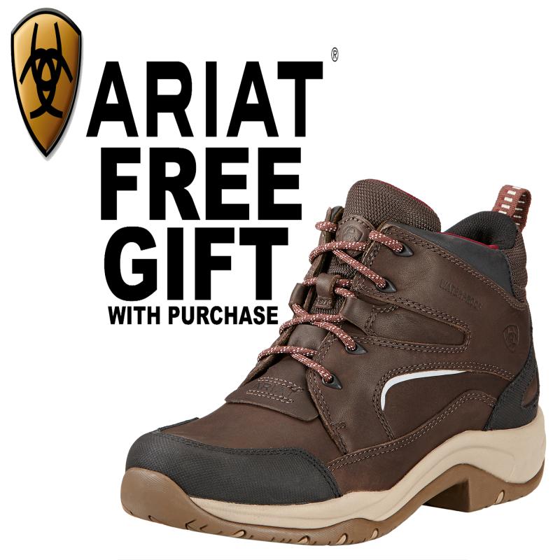 Ariat Telluride II H2O Womens Boots - Dark Brown   FREE Ariat Jute Bag