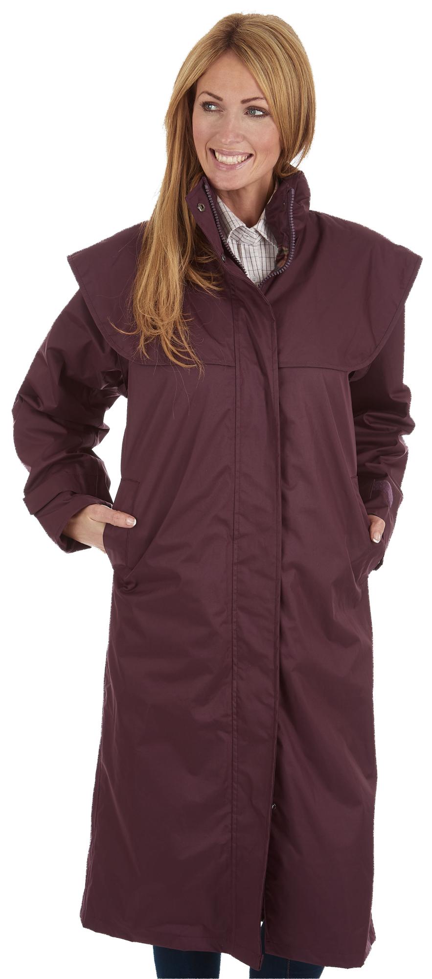 sherwood ragley femmes imperm able long mac manteau de pluie 3 couleurs ebay. Black Bedroom Furniture Sets. Home Design Ideas