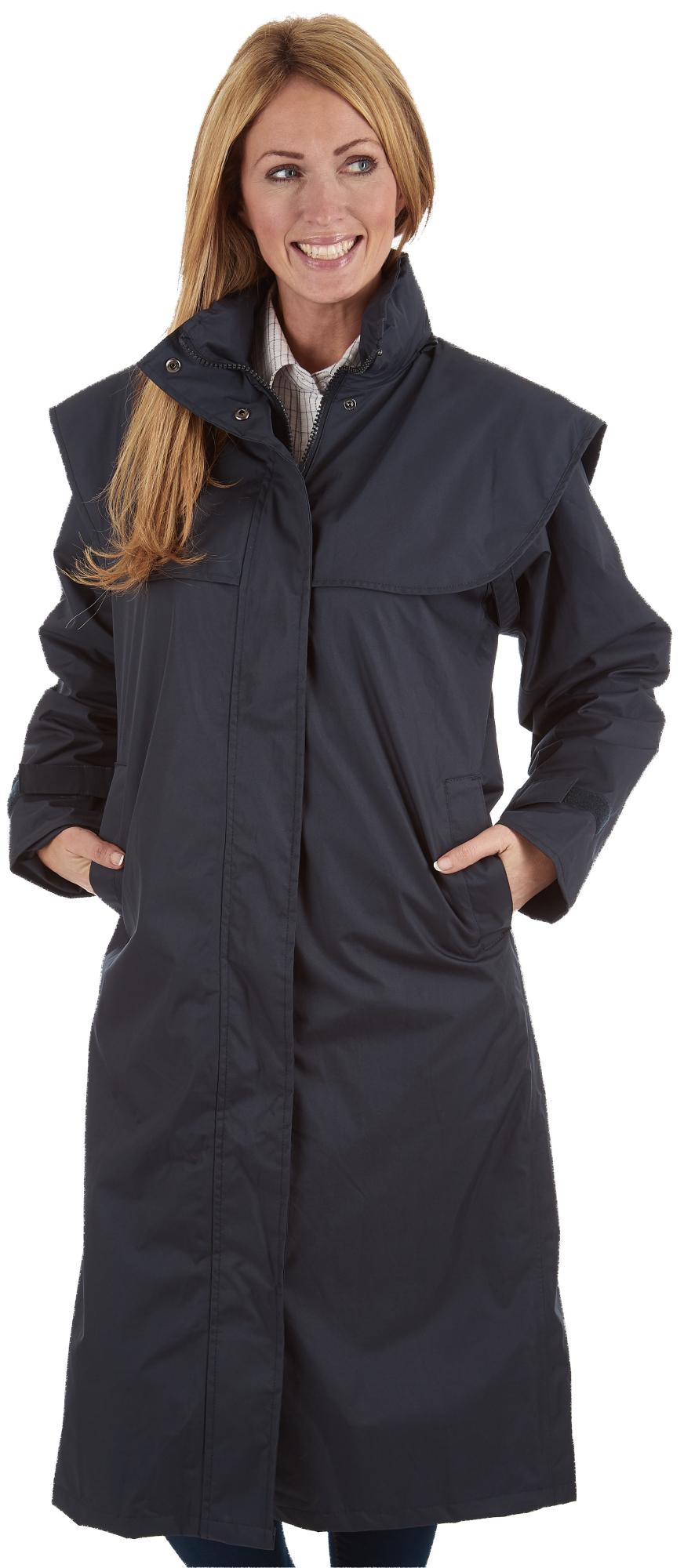 sherwood ragley femmes imperm able long mac manteau de. Black Bedroom Furniture Sets. Home Design Ideas