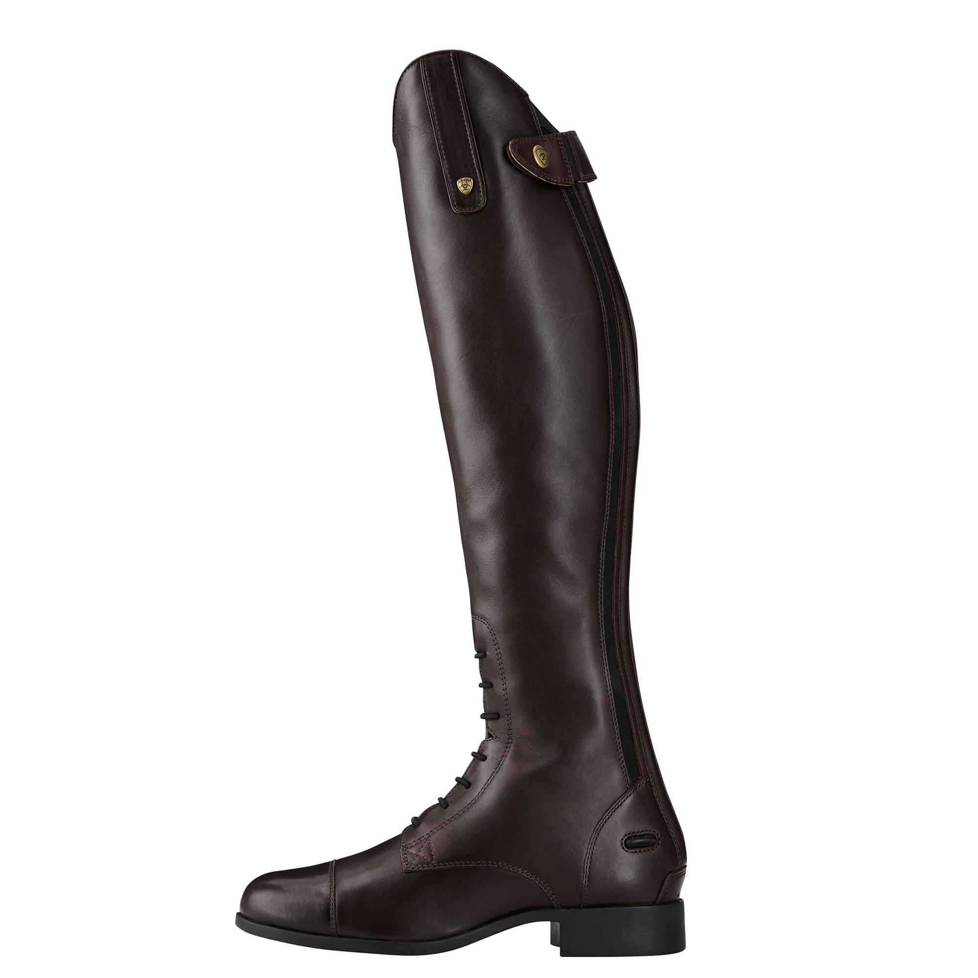 Ariat Kids Heritage Contour Field Zip Long Riding Boots
