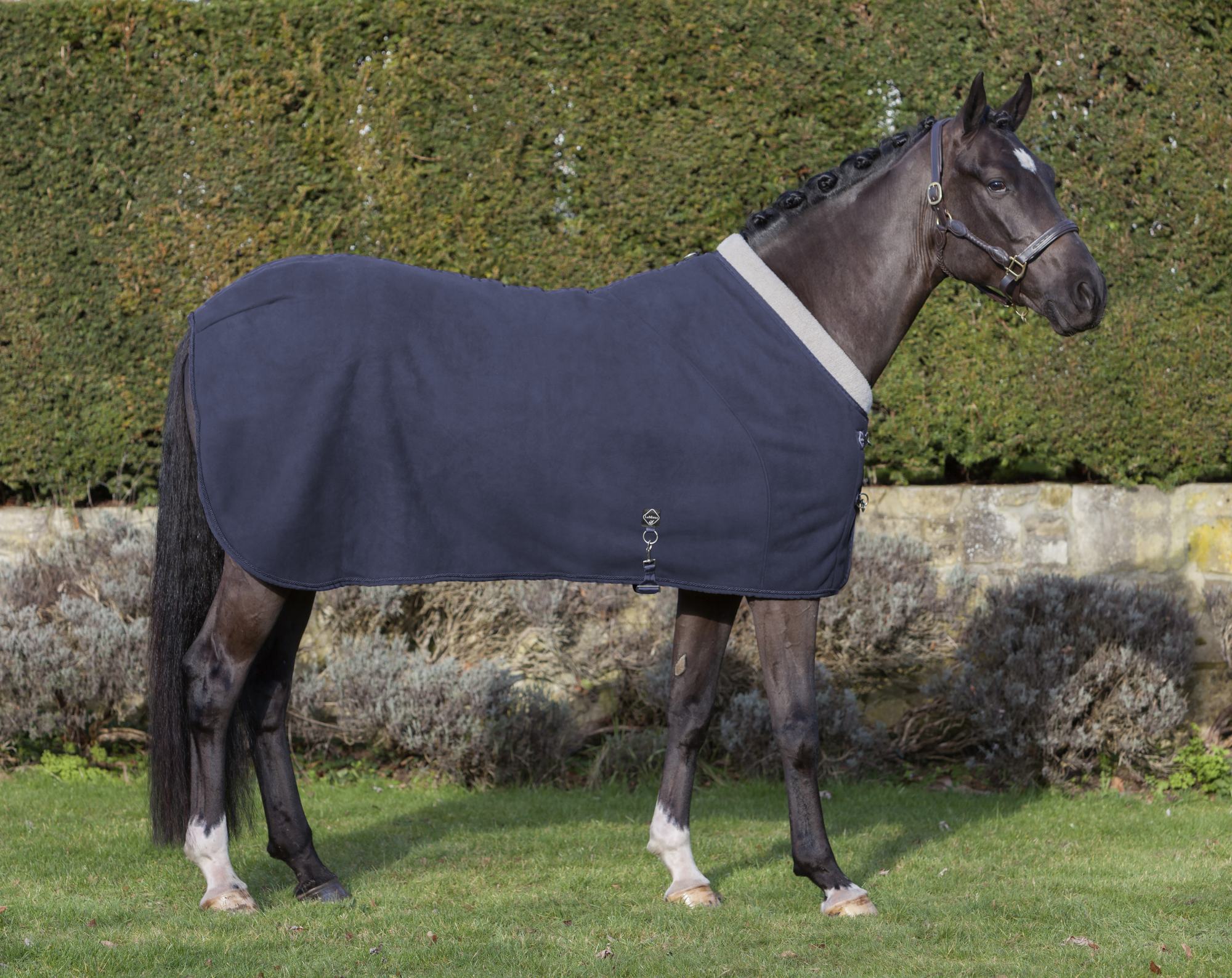 LeMieux Fleece Four Seasons Horse Fleece LeMieux Rug - Navy Blau 7a2b6f