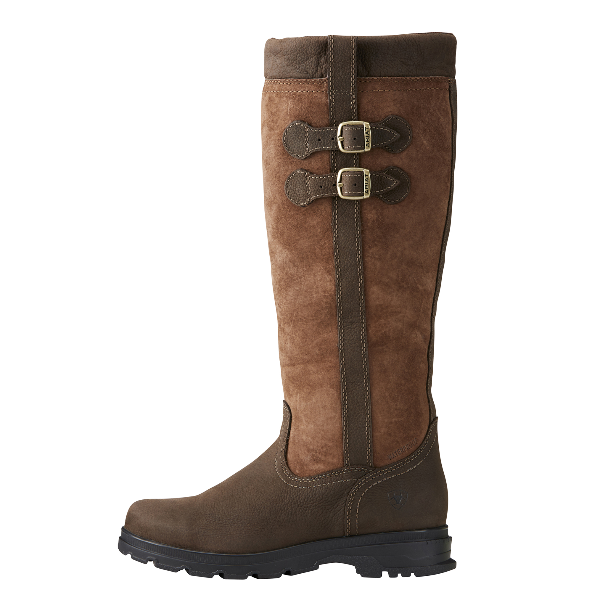 Ariat Eskdale Eskdale Ariat Da Donna in Pelle H20 stivali-marrone java a8de0e