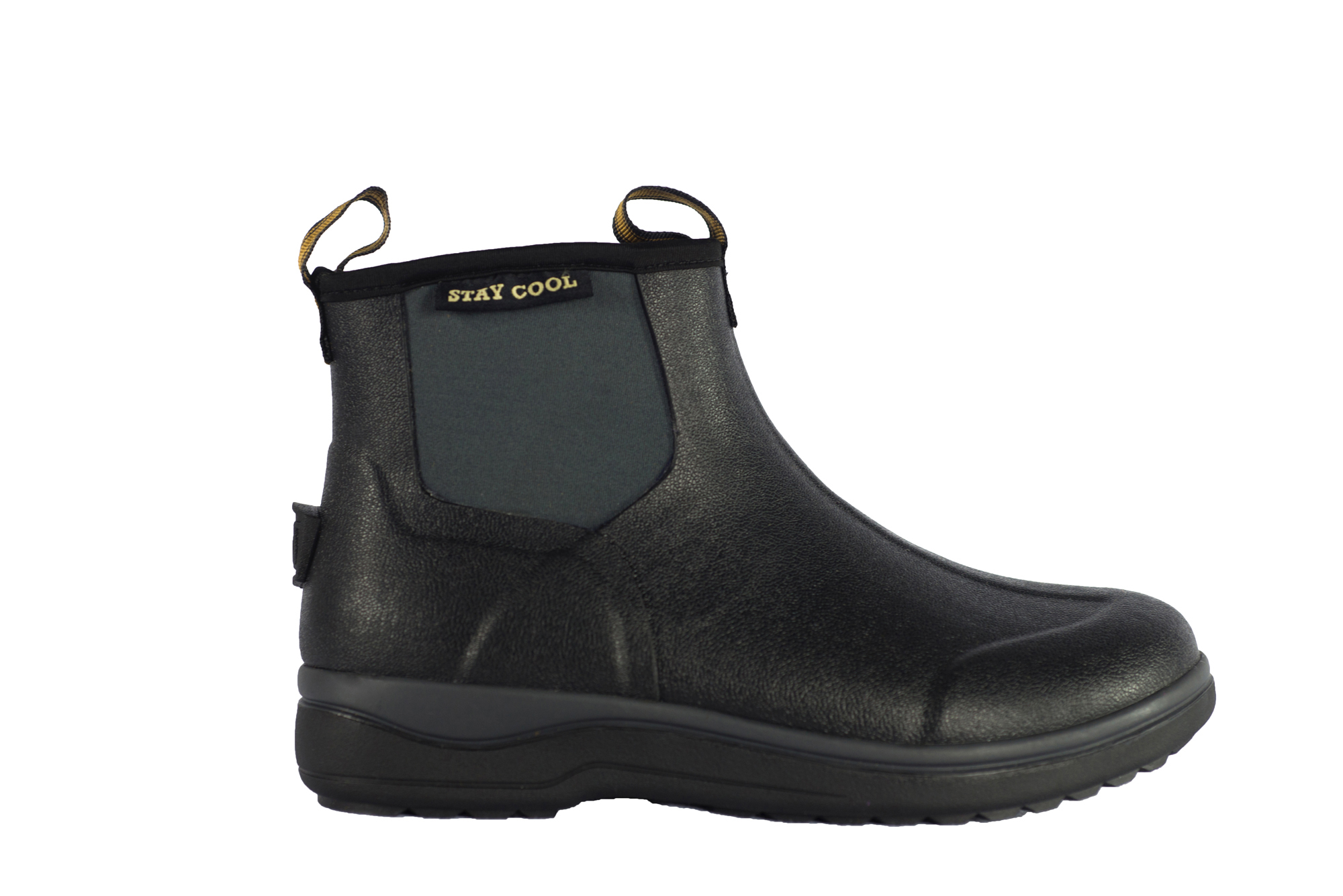 Noble Mujer Botas Impermeables lodos Stay in Cool 6 in Stay (approx. 15.24 cm) - Negro 0a2531