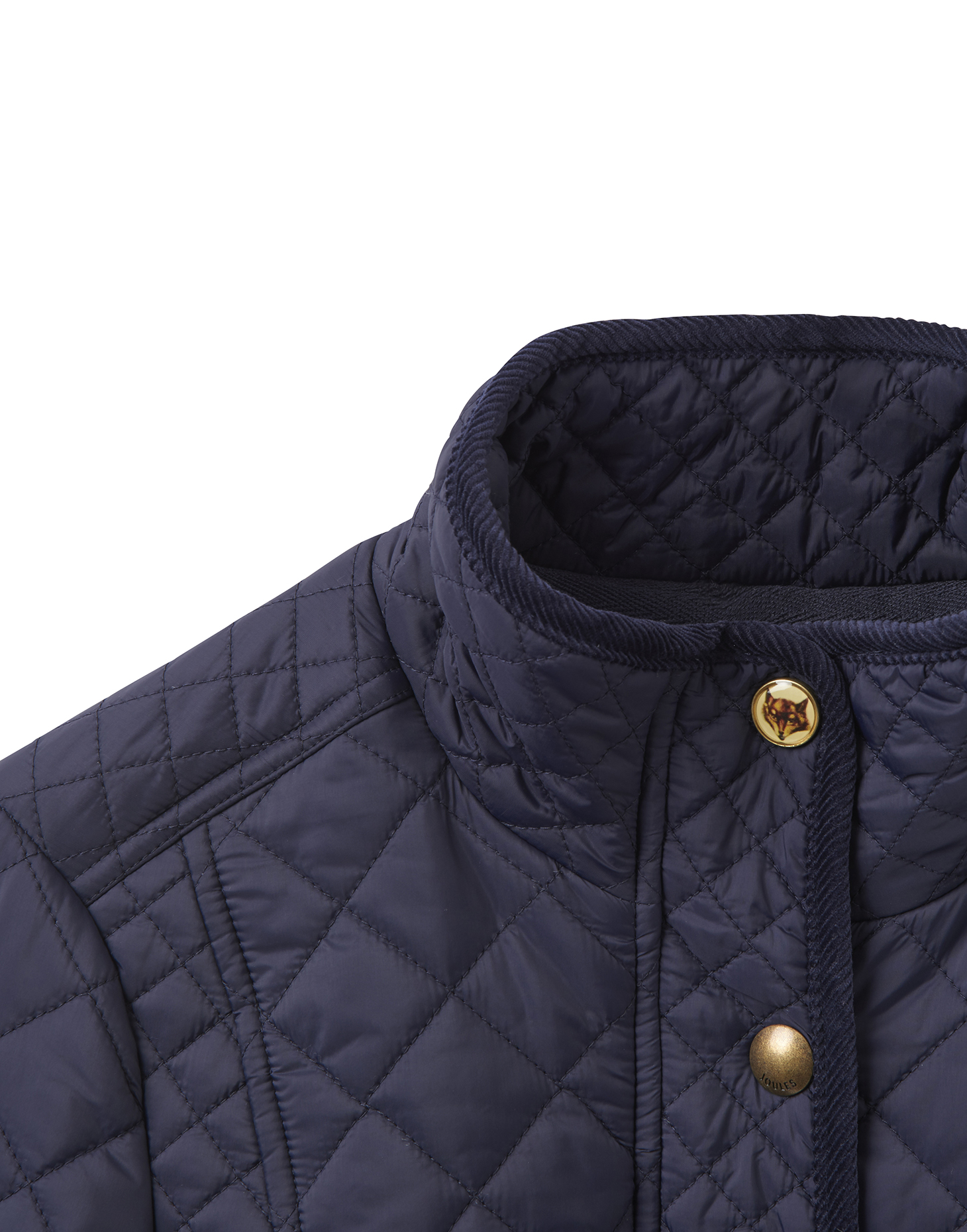 Joules Newdale Womens Quilted Jacket Marine Navy Ebay