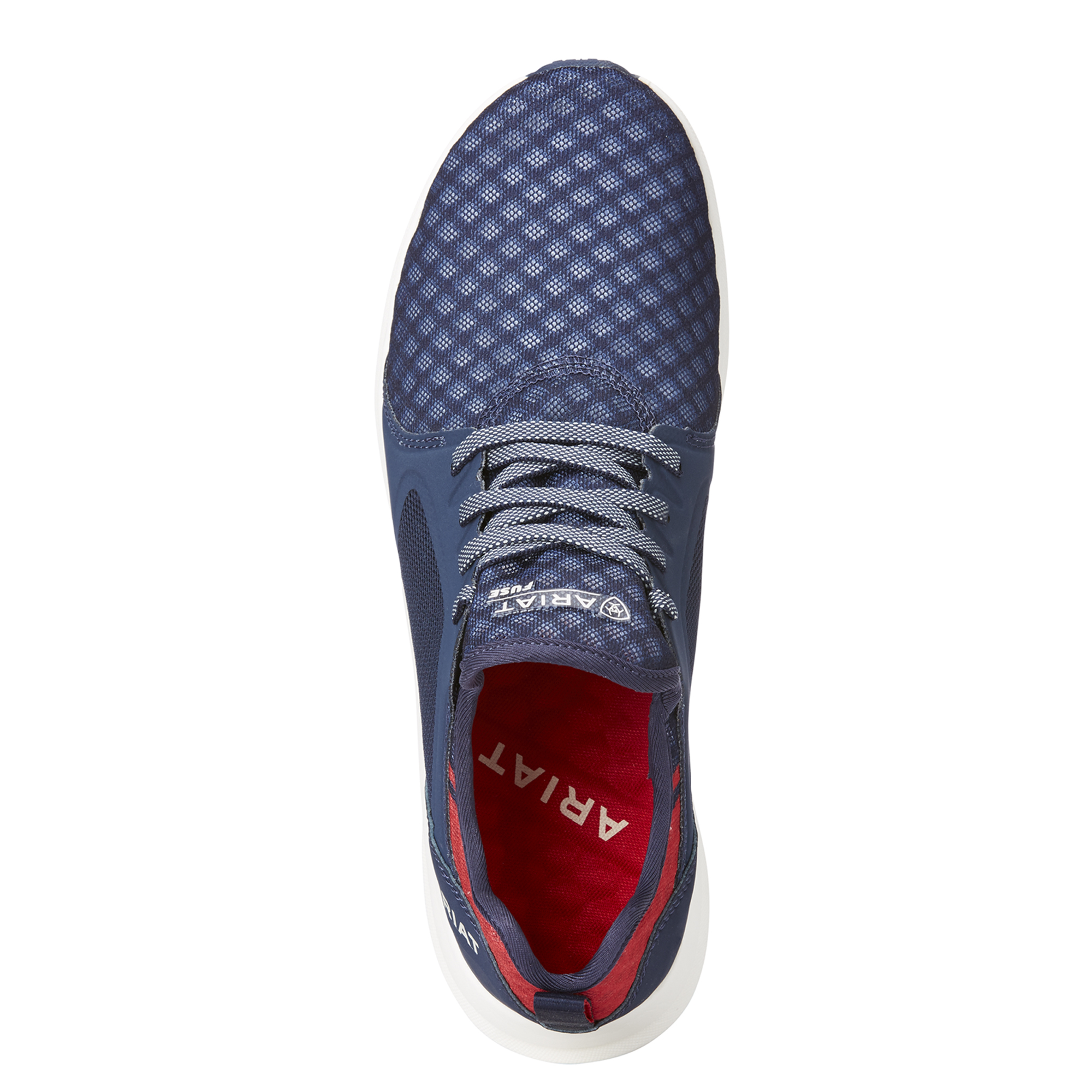 Ariat Fuse Womens Mesh Trainers Navy Blue